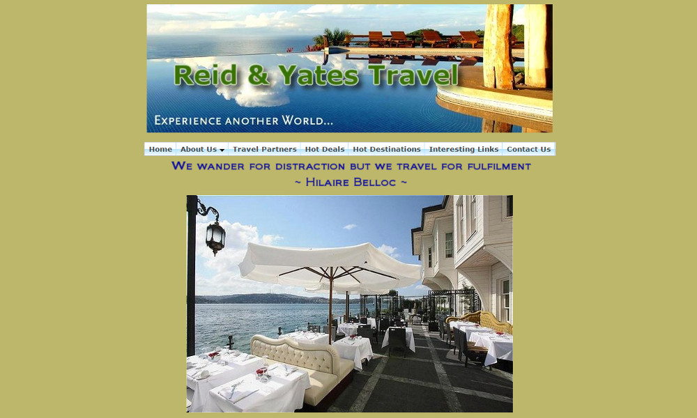 Reid Yates Travel